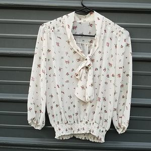 Forever 21 peasant blouse